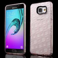 Square gelový obal na mobil Samsung Galaxy A5 (2016) - růžový