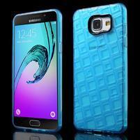 Square gelový obal na mobil Samsung Galaxy A5 (2016) - modrý