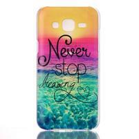 Soul plastový obal pre Samsung Galaxy J5 - neprestávaj  snívať