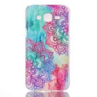 Soul plastový obal pre Samsung Galaxy J5 - lotus