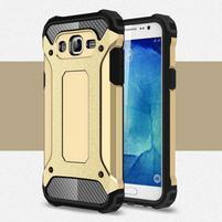 Armory odolný obal pre mobil Samsung Galaxy J5 - zlatý