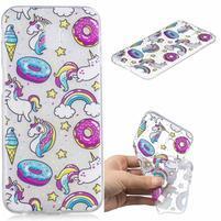 Print gélový obal na mobil Samsung Galaxy J6+ - šišky