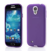 Gélové puzdro 2v1 pre Samsung Galaxy S4 - fialové