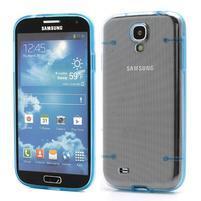 Obal pre mobil se svítícími hranami pre Samsung Galaxy S4 - modré
