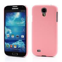 Plastové poudro na Samsung Galaxy S4 - růžové