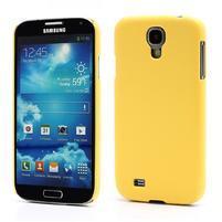 Plastové poudro pre Samsung Galaxy S4 - žlté