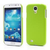 Plastové poudro pre Samsung Galaxy S4 - zelené