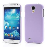 Plastové poudro pre Samsung Galaxy S4 - fialové