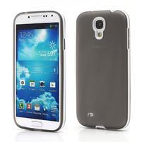 Gelové pouzdro 2v1 na Samsung Galaxy S4 - šedé