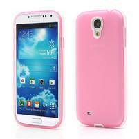 Gelové pouzdro 2v1 na Samsung Galaxy S4 - růžové