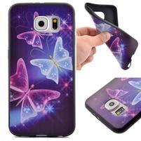 Jells gelový obal na Samsung Galaxy S7 - kouzelní motýlci