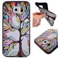 Jells gélový obal pre Samsung Galaxy S7 - maľovaný strom