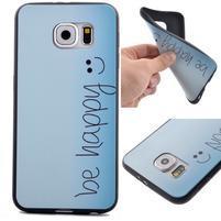 Jells gélový obal pre Samsung Galaxy S7 - be happy