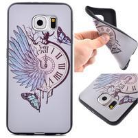Jells gelový obal na Samsung Galaxy S7 - hodiny