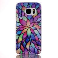 Plastový obal pre mobil Samsung Galaxy S7 - petals