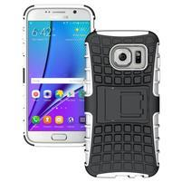 Outdoor odolný obal pre mobil Samsung Galaxy S7 - bielý