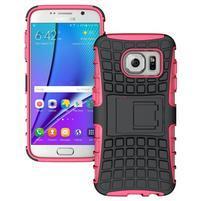 Outdoor odolný obal pre mobil Samsung Galaxy S7 - rose