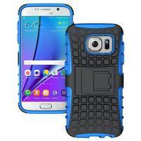 Outdoor odolný obal na mobil Samsung Galaxy S7 - modrý
