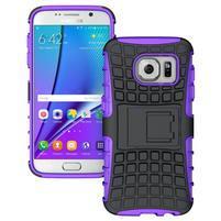 Outdoor odolný obal pre mobil Samsung Galaxy S7 - fialový