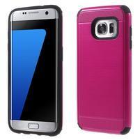 Odolný dvojdielny obal pre Samsung Galaxy S7 edge - rose