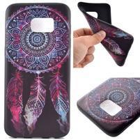 Backy gélový obal pre Samsung Galaxy S7 edge - lapač snov