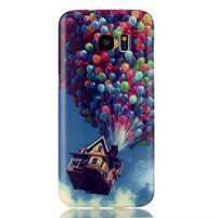 Softy gelový obal na Samsung Galaxy S7 edge - nafukovací baónky
