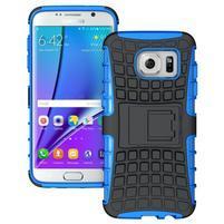 Odolný outdoor kryt pre Samsung Galaxy S7 edge - modrý