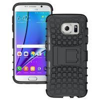 Odolný outdoor kryt pre Samsung Galaxy S7 edge - čierny
