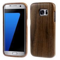 Woods drevený obal pre mobil Samsung Galaxy S7 Edge - dekor I