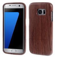 Woods drevený obal pre mobil Samsung Galaxy S7 Edge - dekor III