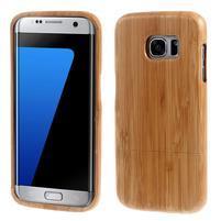 Woods drevený obal pre mobil Samsung Galaxy S7 Edge - dekor IV