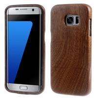 Woods drevený obal pre mobil Samsung Galaxy S7 Edge - dekor V