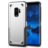Ruggi hybridný odolný obal na Samsung Galaxy S9 - strieborný