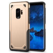 Ruggi hybridný odolný obal na Samsung Galaxy S9 - zlatý