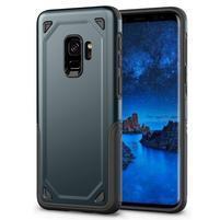 Ruggi hybridný odolný obal na Samsung Galaxy S9 - tmavomodrý