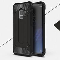 Armory odolný hybridný obal na Samsung Galaxy S9 - čierny