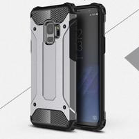 Armory odolný hybridný obal na Samsung Galaxy S9 - šedý