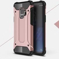 Armory odolný hybridný obal na Samsung Galaxy S9 - rosegold