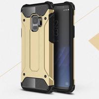 Armory odolný hybridný obal na Samsung Galaxy S9 - zlatý
