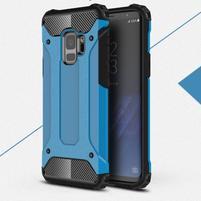 Armory odolný hybridný obal na Samsung Galaxy S9 - modrý