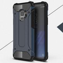 Armory odolný hybridný obal na Samsung Galaxy S9 - tmavomodrý