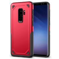 Ruggi hybridný odolný obal na Samsung Galaxy S9+ - červený
