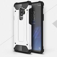 Armory odolný hybridný obal na Samsung Galaxy S9 Plus - biely