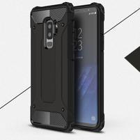 Armory odolný hybridný obal na Samsung Galaxy S9 Plus - čierny
