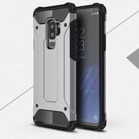 Armory odolný hybridný obal na Samsung Galaxy S9 Plus - šedý