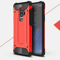 Armory odolný hybridný obal na Samsung Galaxy S9 Plus - červený