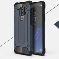 Armory odolný hybridný obal na Samsung Galaxy S9 Plus - šedomodrý
