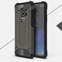 Armory odolný hybridný obal na Samsung Galaxy S9 Plus - coffee