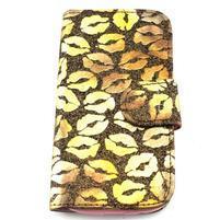 Pusinky peňaženkové puzdro pre Samsung Galaxy S4 Mini - style