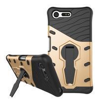 Armory odolný obal pre mobil Sony Xperia X Compact - zlatý